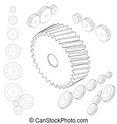 Post free Vector Wheels 214756 furthermore 6 as well Set Of Gear Wheels together with 75153887508395607 together with Search. on changing gears clip art