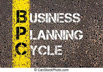 acrônimo,  bpc, planificação, negócio, ciclo