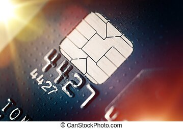 Credit Card Payments System Concept Photo. Banking Theme.