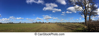 Farmland - Yorkshire - United Kingdom - Farmland view in...