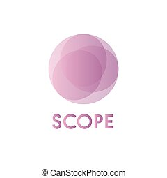 Circles background illustration spheres business sign...