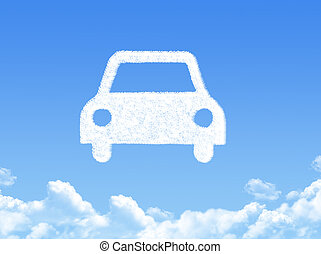 Car cloud shape