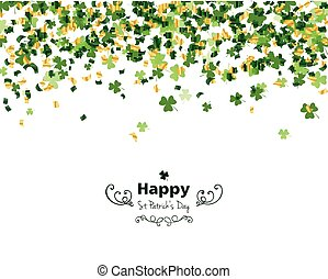 Vector Saint Patricks Day Design - Vector Illustration of a...