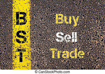 Business Acronym BST Buy Sell Trade