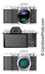 Mirrorless compact camera - Premium class mirrorless...
