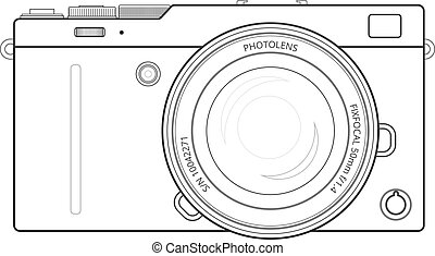 Mirrorless compact camera - Mirrorless interchangeable lens...
