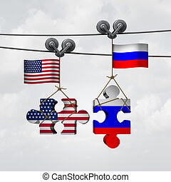 American And Russian Cooperation