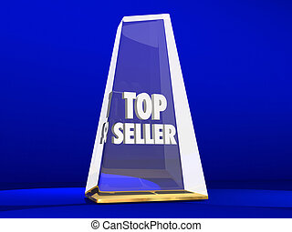 Top Seller Most Popular Choice Sales Demand Award
