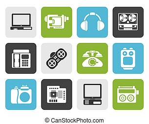 technical equipment icons