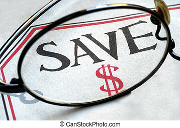 Focus on saving money when making purchase