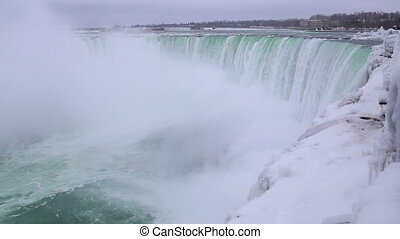 Niagara falls shot twelve winter