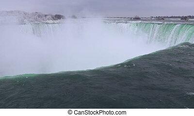 Niagara falls shot fourteen winter