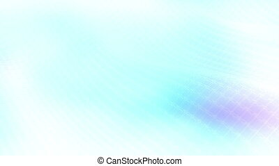 Soft Flowing Blue and White Loop - Animated Soft Flowing...