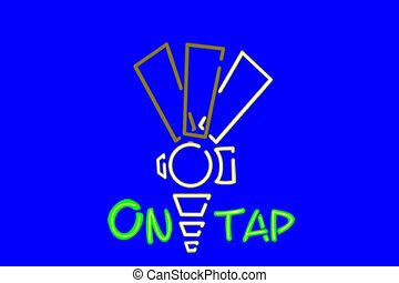 NLP Tap Sign - Based on my fun traditional type pub signs in...