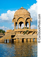 Gadi Sagar Gate, Jaisalmer, North India