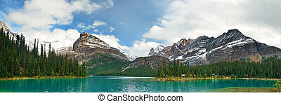 Yoho National Park panorama - Lake O'hara in Yoho National...