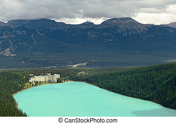 Banff National Park - Banff national park view with...