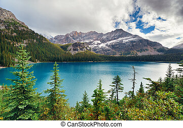 Yoho National Park - Lake Ohara, Yohu National Park, Canada...