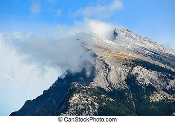Banff National Park - Landscape of Banff National Park in...