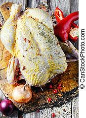 chicken in spices