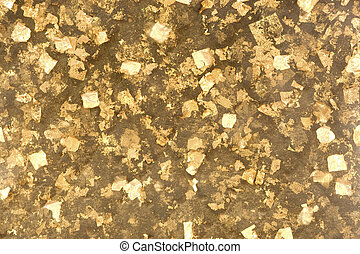 Gold foil. - Gold foil texture and background.