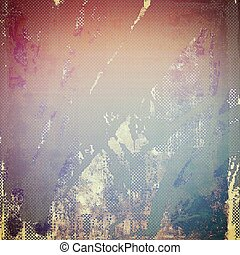 Abstract grunge background of old texture. With different color patterns: yellow (beige); blue; pink; red (orange); purple (violet)