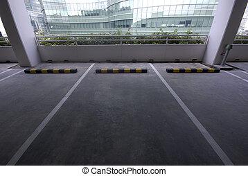 Line for car park