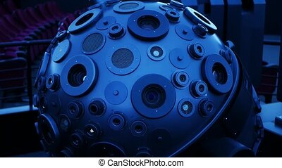 projector in Planetarium, digital projection system,...
