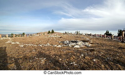 Medicine Wheel National Historic Landmark - View of Medicine...