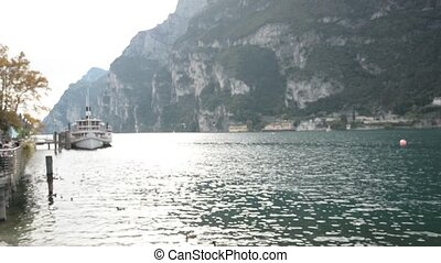 Riva del Garda, on Garda Lake, Italy - Footage of Riva del...