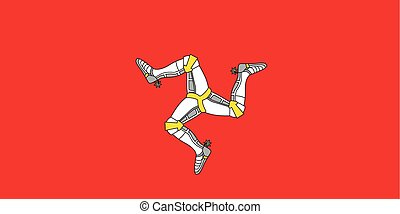 Standard Proportions for Isle of Man Flag - Standard...