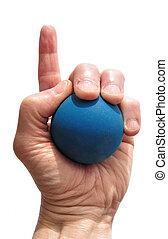 jugador, Uno, número,  Racquetball