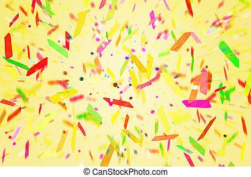 Fiesta Confetti Background