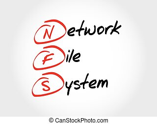 NFS Network File System, acronym concept