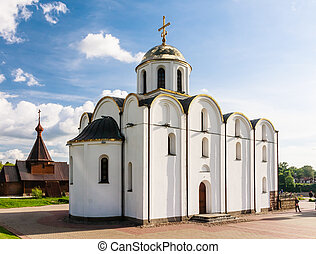 Church of the Annunciation and the Church of the Holy Prince Alexander Nevsky. Vitebsk. Belarus