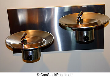 Water fountain. - Stylish water fountains.