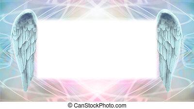 Angel Wings Message Board - Wide wispy ethereal energy...