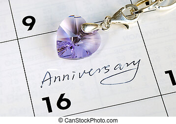 Haga, usted, recordar, hoy, nuestro, anniversary?