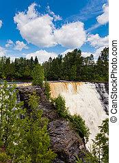 Kakabeka Falls near Thunder Bay Ontario ON Canada