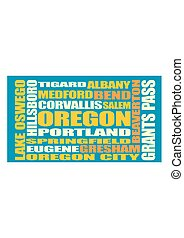 Oregon state cities list