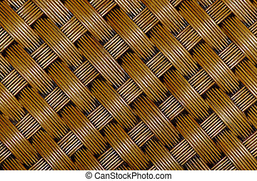 Rattan background - Brown background from natural materials...