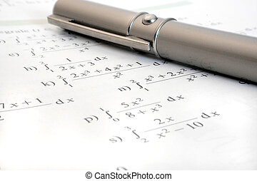 fazendo, matemática