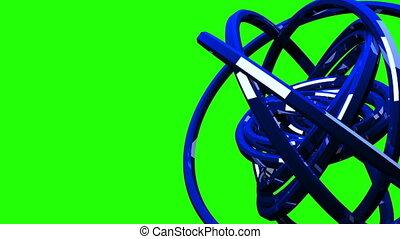 Blue Circle Abstract