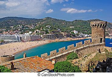 Cityscape of Tossa de Mar, Costa Brava, Spain. More in my Gallery.