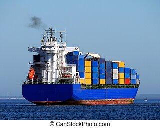 Container Feeder Ship A