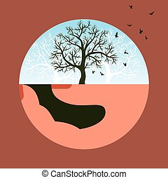 save nature vector
