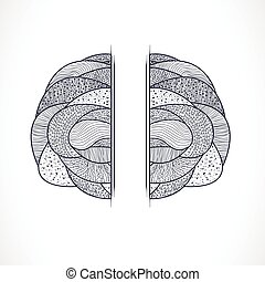 Abstract shape Illustration 10 version