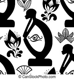 African National seamless pattern