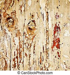 stary, drewno, tło,