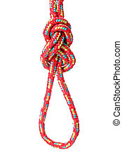 Figure Of Eight Loop - A fine knotted figure of eight loop...